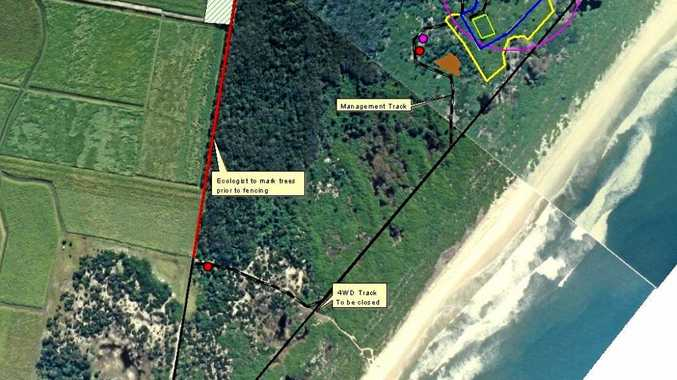 Road and track proposals to connect South Ballina's proposed $41 million private play haven.