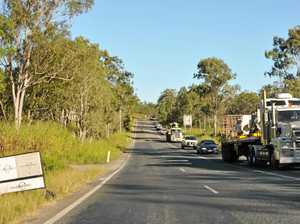 Delays after truck breaks down