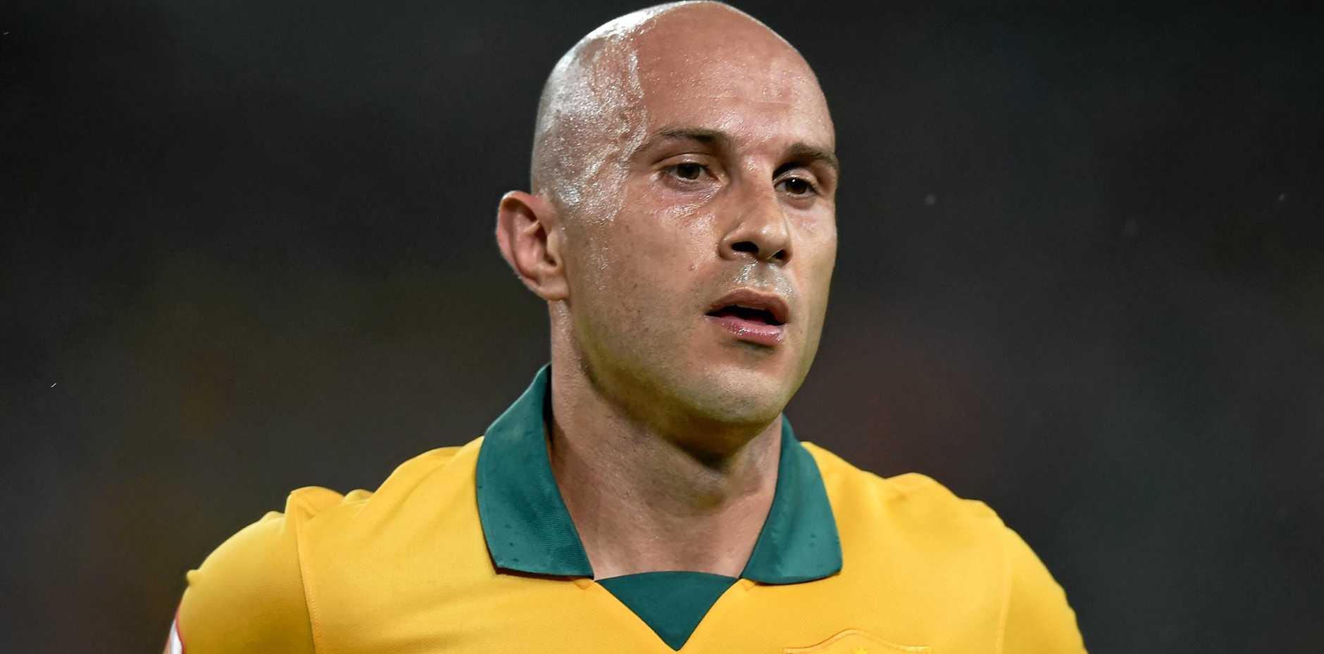 Australia's Mark Bresciano