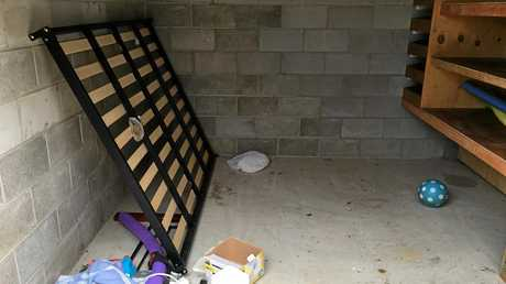 TRASH: Bargara landlord Scott Marsen had to evict his tenant after just four months.