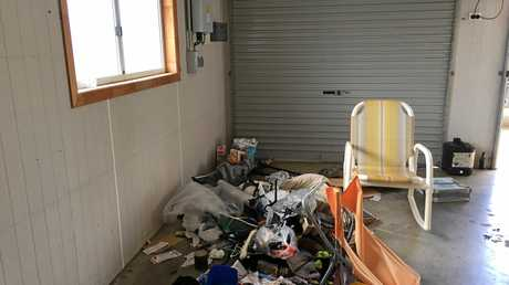 RUBBISH: Bargara landlord Scott Marsen says his house was left in a horrible state.