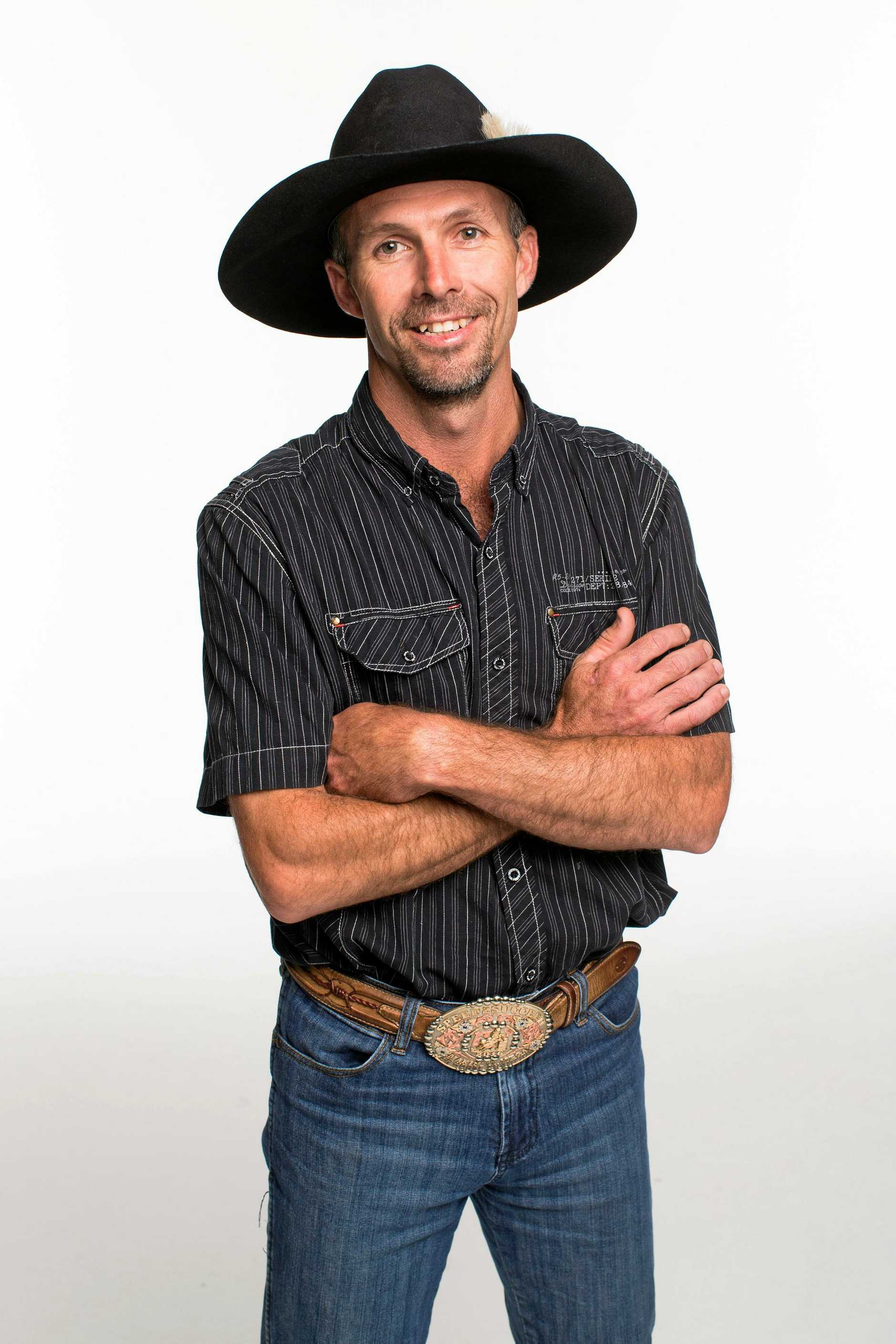 Farmer Sean Hollands, 35, from Maryborough in the new season of Married At First Sight. Supplied by Channel 9.
