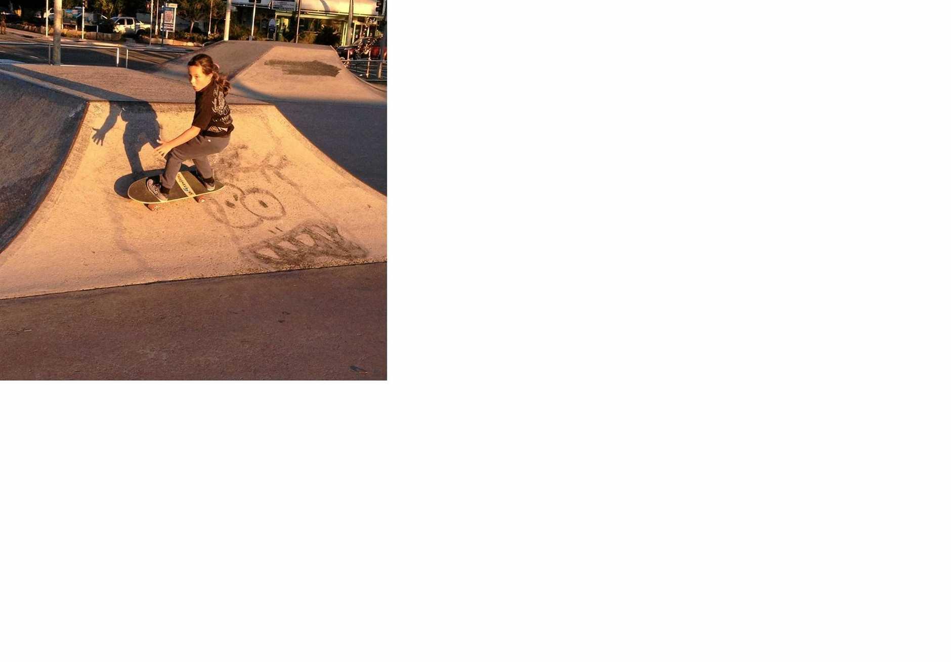 A SmoothStar skateboard.
