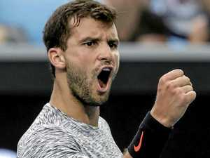 From courts to courtships: Dimitrov learning to focus