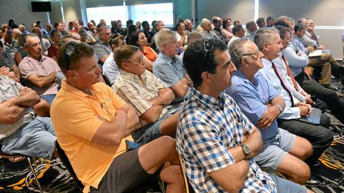 Canegrowers Mackay annual meeting in progress Tuesday.