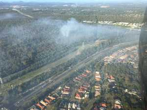 UPDATE: Military battle large fire near Centenary Hwy