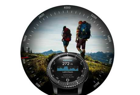 Samsung Gear S3 frontier is designed for the adventurers among us.