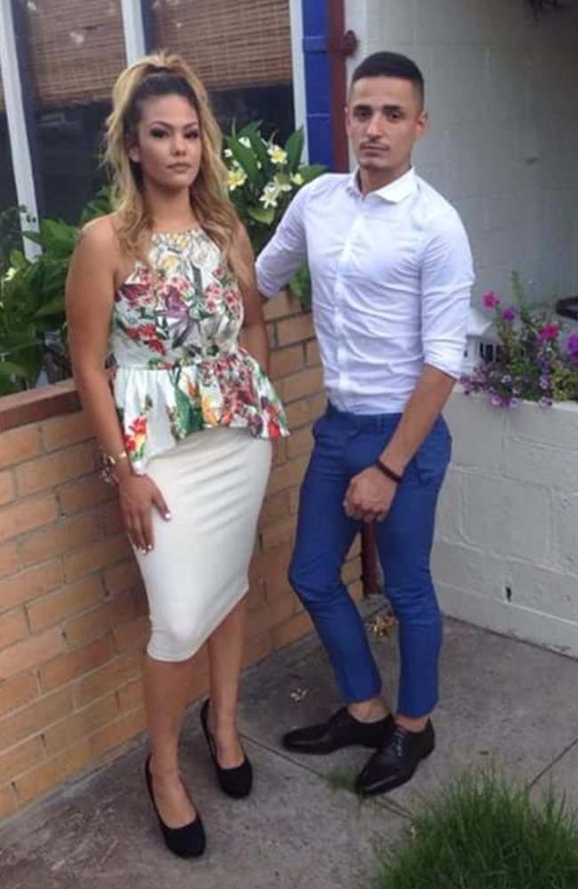 Angelo and his sister, Sesimani Kostaras.
