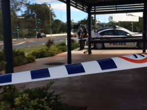 Business continues after alleged stabbing