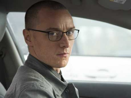 James McAvoy in a scene from the movie Split.