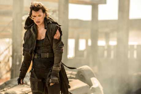 Milla Jovovich saves the world one last time in Resident Evil: The Final Chapter.