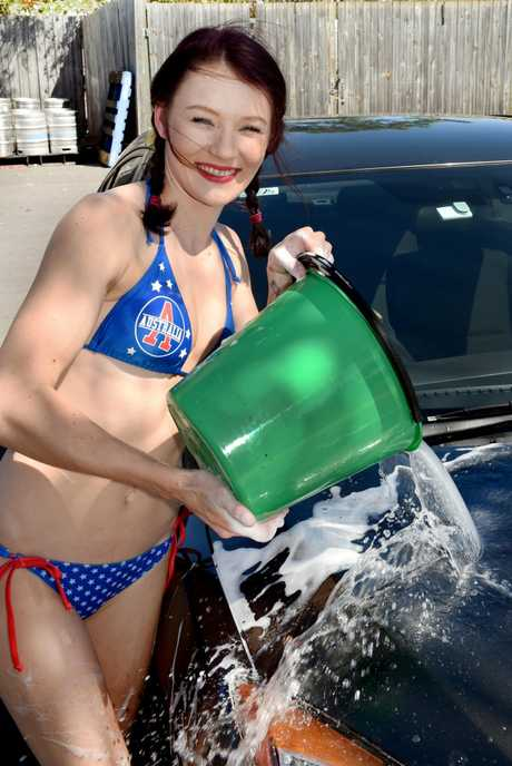 Australia Day at the Old Sydney Hotel - Jessica Mangham and her workmates will be raising money for the Children's Hospital Foundation. Donned in a bikini, they will wash your car, bike or dog for $10.00.