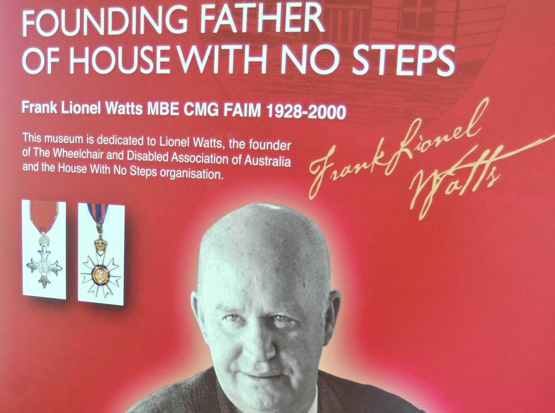 Lionel Watts, founder of the House with No Steps.