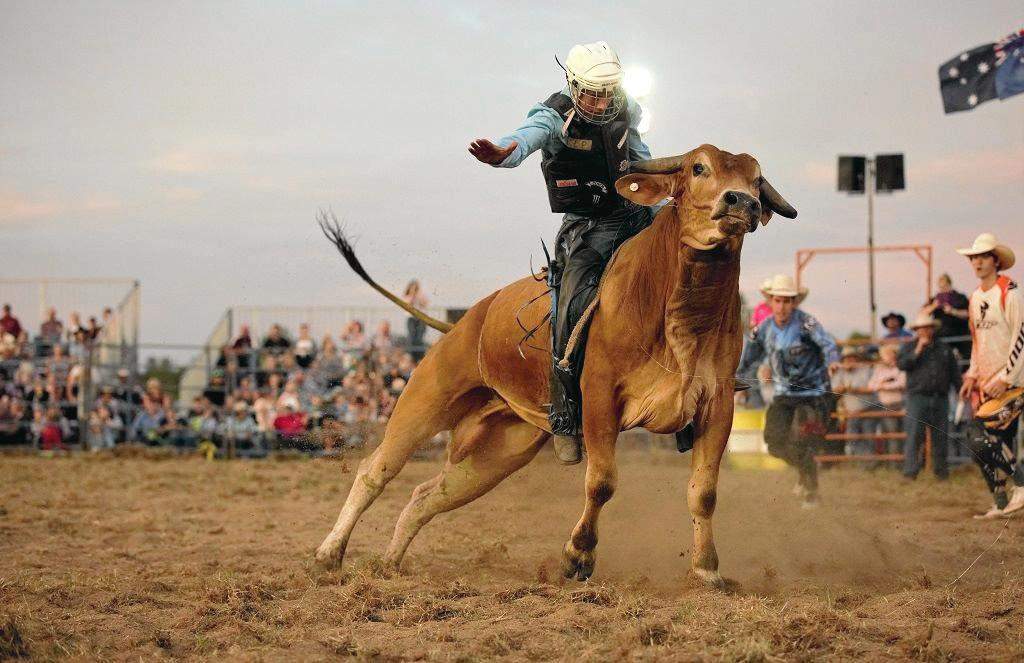 Gympie's Bull N Bronc is a good old country rodeo with lots of fun for all the family.