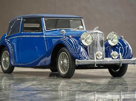 STAR CAR: The magnificent Blue Jaguar MKIV