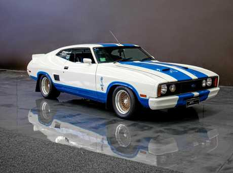A 1978 Ford XC Falcon Cobra, just one of the cars that pop.