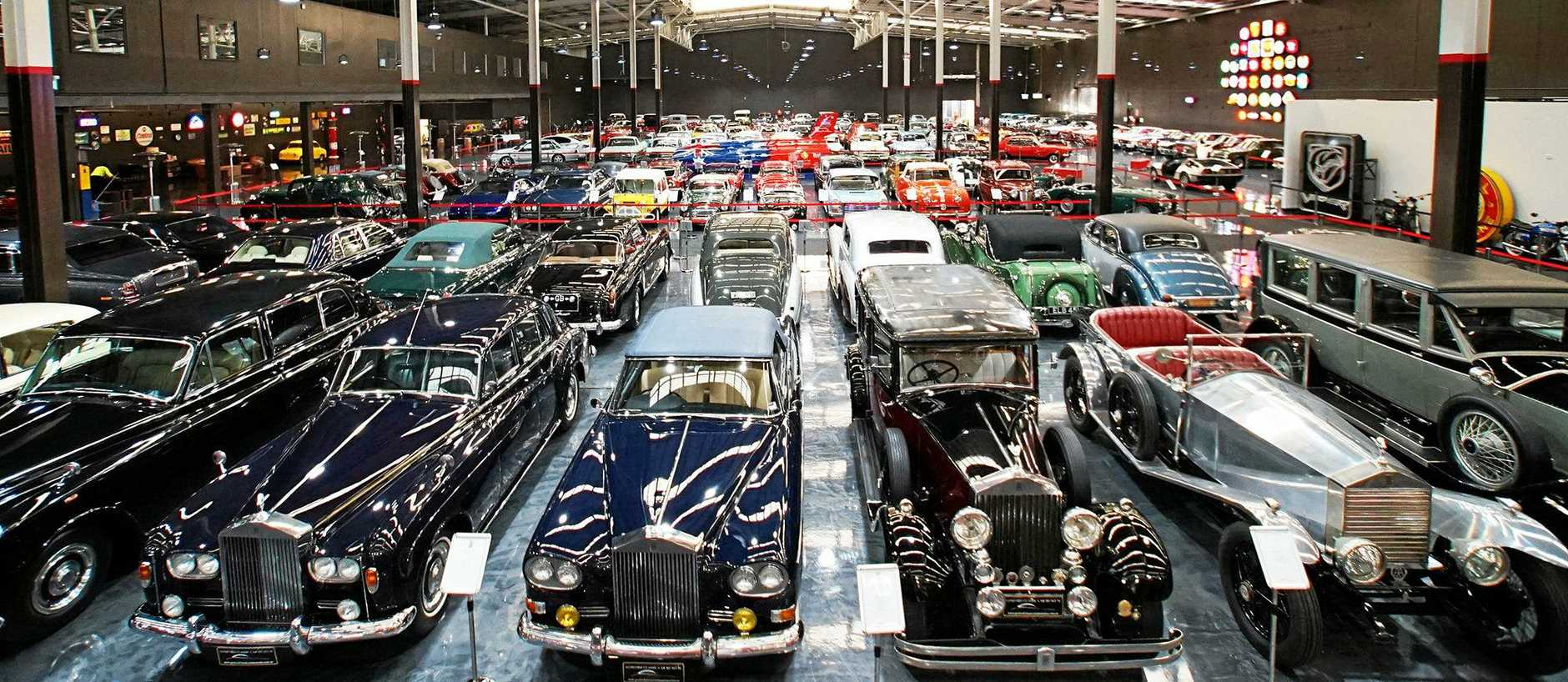 Already the Gosford Classic Car Museum has attracted thousands of visitors.