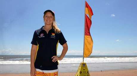 AUS DAY SURF: Gemma Henricksen.