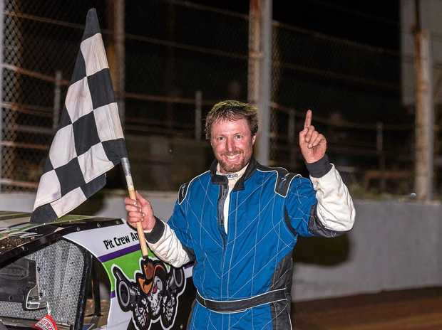 SPEEDWAY CHAMPION: Terry Leerentveld took home the South Australian Title.