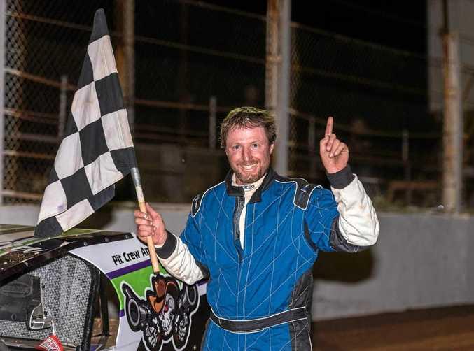 SPEEDWAY CHAMPION: Terry Leerentveld took home the South Australian Title.