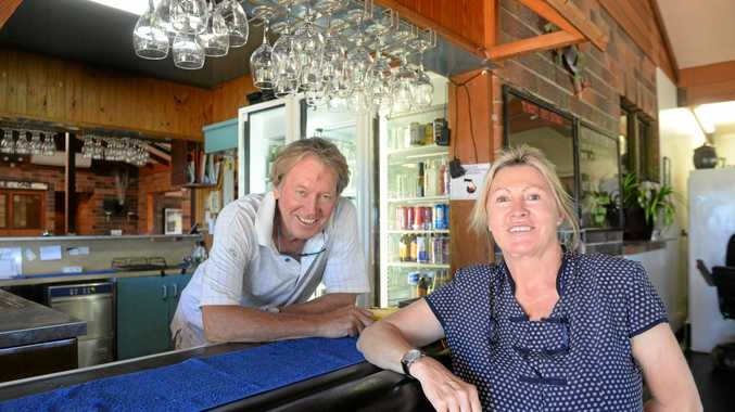 DREAM COME TRUE: Gary Peat and Louise Cole are the new owners of the Innes Park Country Club after visiting Bundaberg on holidays.
