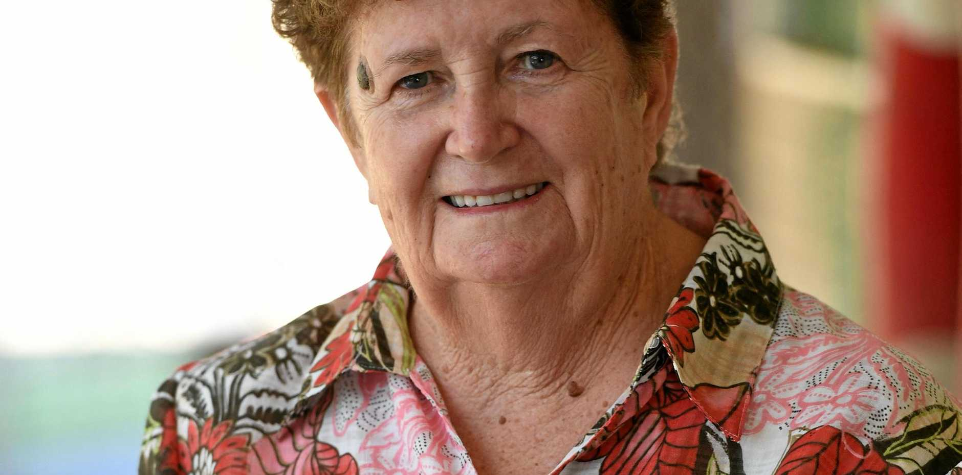 OAM: Leone Wilson was recognised for her