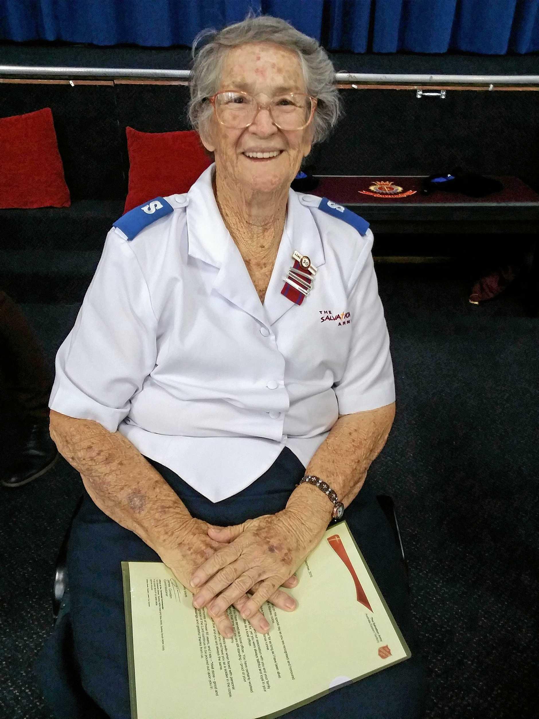Lori Burgess Community Volunteer winner, Hazel Cooper.