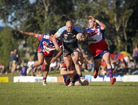 Ballina front-rower Dylan Montgomery has been almost unstoppable since coming back to the NRRRL in 2013.