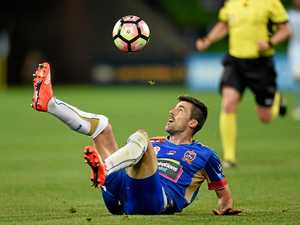 Newcastle Jets aim to land in top four by season's end