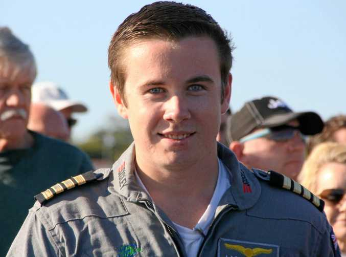 Eighteen-year-old pilot Lachlan Smart.