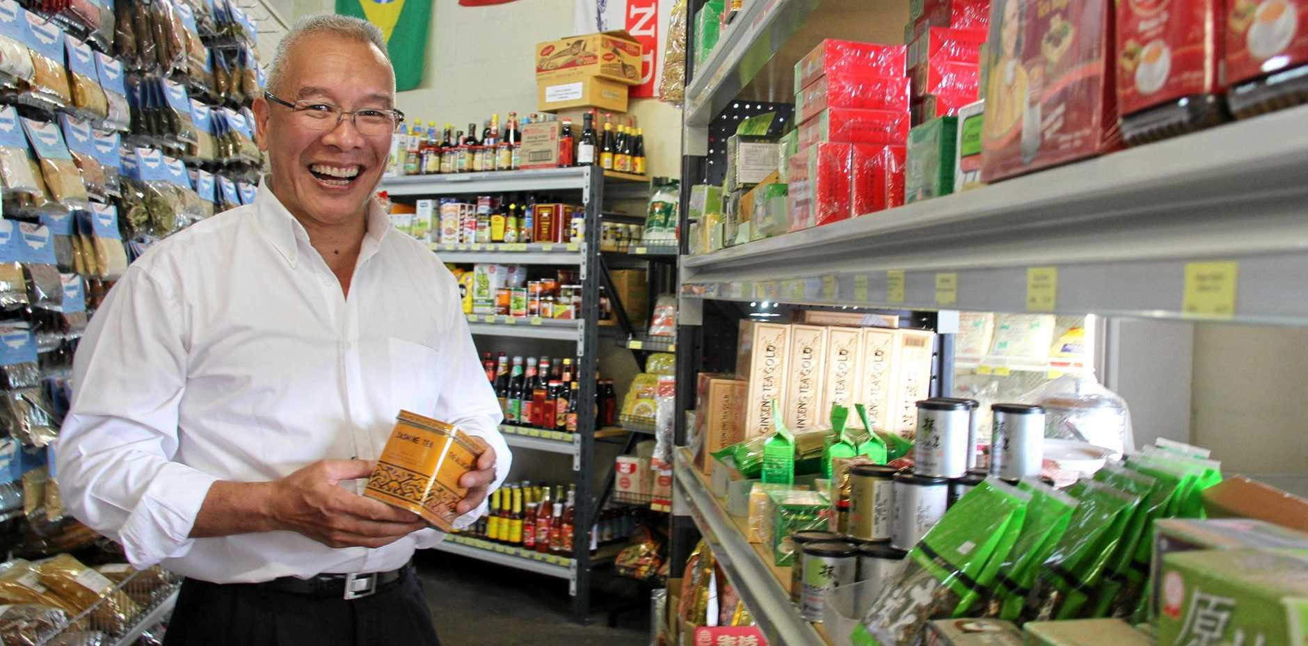 ASIAN CUISINE: Chef Tony Ching will run tours and cooking demonstrations in Bundy for Chinese New Year.