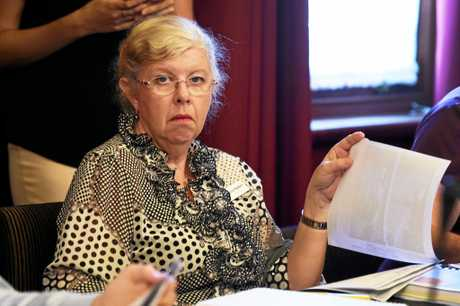 Fraser Coast Regional Council meeting, Maryborough Chambers - Anne Maddern.