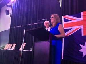 Keri McInerney at the Australia Day Awards