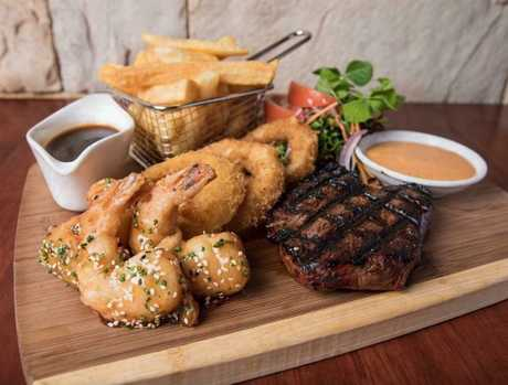The Southern Hotel is putting on an Australia Day feast complete with steak, calamari and chips.