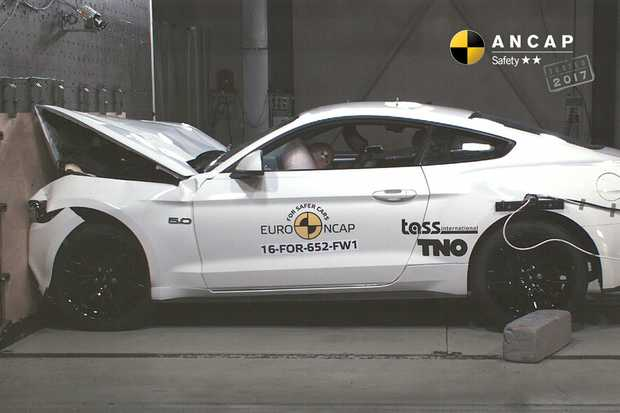 2016 Ford Mustang scores just 2 stars in ANCAP crash testing