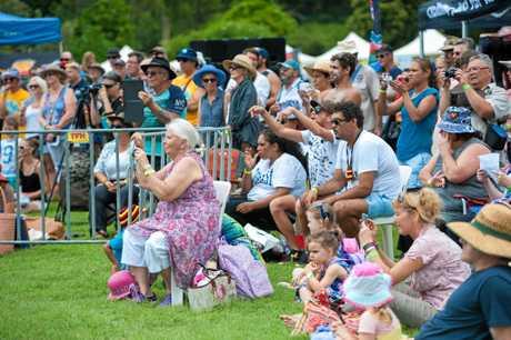Saltwater Freshwater festival at North Coast Botanic Garden. 26 JAN 2016