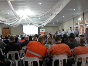 Full house at Adani roadshow