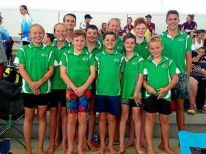 Young Seals shine at sprints