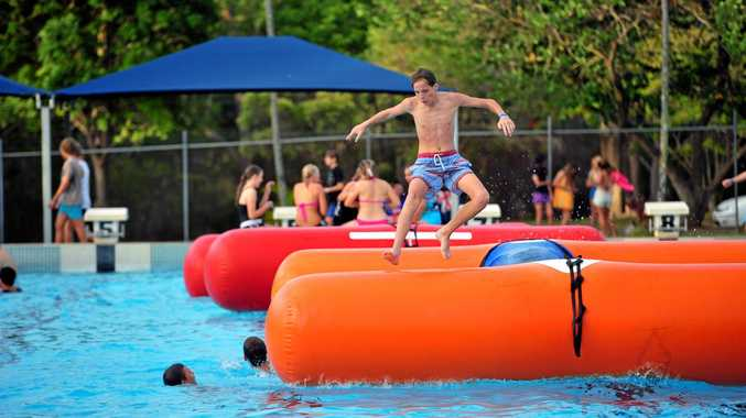 BIG SPLASH: Norville Pool is open today.