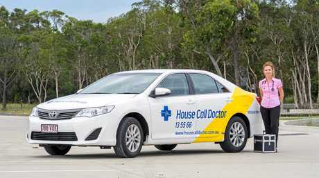 House Call Doctor has six cars operating in the Wide Bay region.