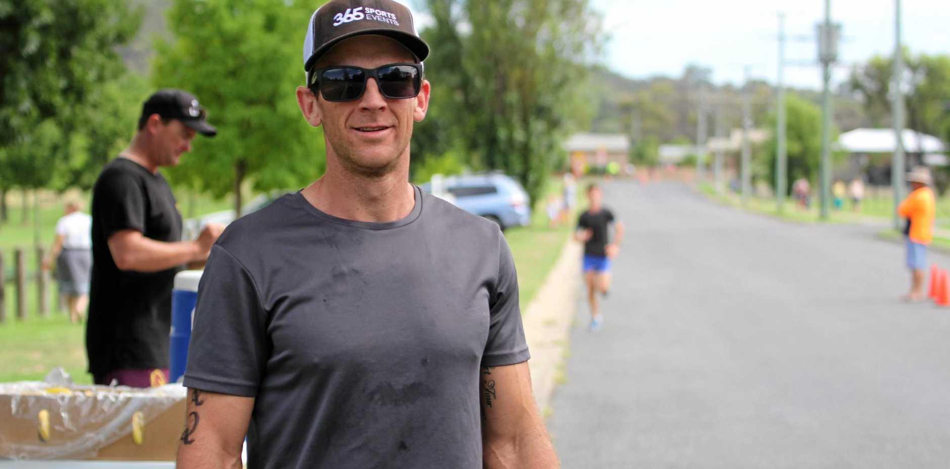 Adrian Jannenga claimed Stanthorpe's Australia Day Sports Award for 2017.