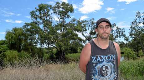 GOING BATTY: Jeremy Briggs has to put up with thousands of bats every summer and he wants them gone.