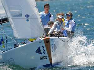 Hodgson in elite company for youth regatta