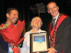 Barbara honoured for 24 years volunteering at nursing home
