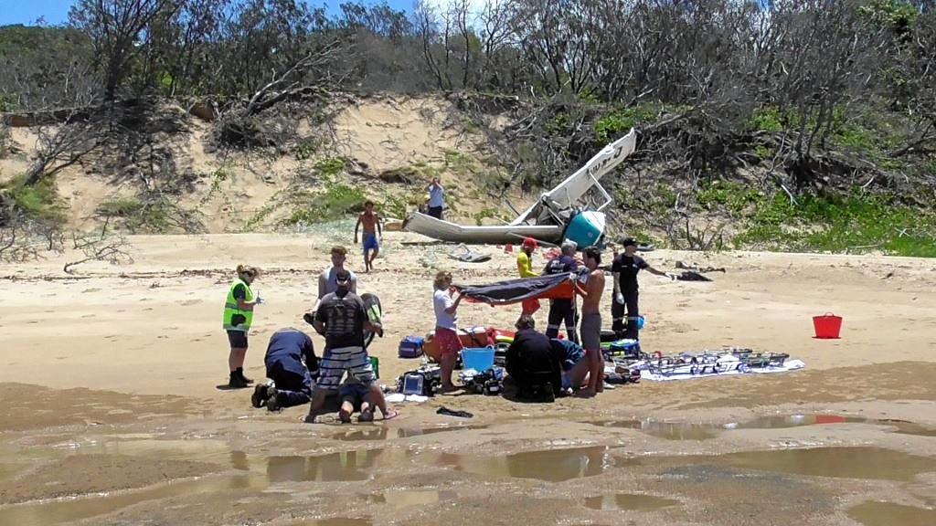 Fatal plane crash on Middle Island.