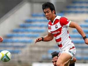 Japanese winger makes switch to Rebels