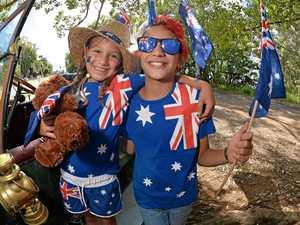 Aussie pride shines across Coast