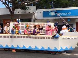 Hundreds flock to Australia Day parade