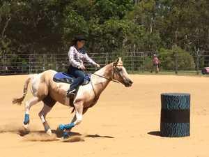 Horse barrel race