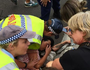 Invasion Day protests turn violent: Woman, cop injured